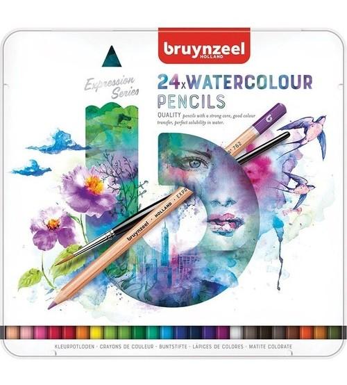 Bruynzeel Expression Water Colour Pencil 24 lü