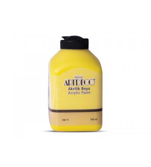 Artdeco Akrilik Boya 500 ml 3601 Sarı