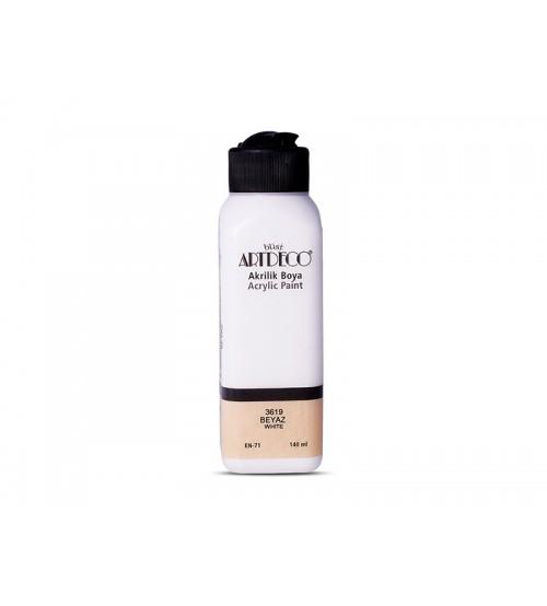 Artdeco Akrilik Boya 140 ml 3619 Beyaz