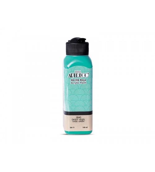 Artdeco Akrilik Boya 140 ml 3640 Oksit Yeşil
