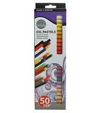 Daler Rowney Simply Oil Pastel 50 Renk