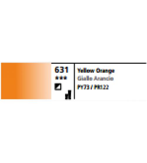 Daler Rowney Graduate 200 ml Yağlı Boya 631 Yellow Orange