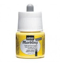 Pebeo Marbling Ebru Boyası 45 ml 01 Lemon Yellow