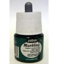 Pebeo Marbling Ebru Boyası 45 ml 06 Emerald Green
