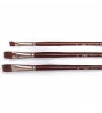 Pebeo 210 Serisi Öküz Kulağı Kılı Yağlı / Akrilik Boya  Fırçası No:0