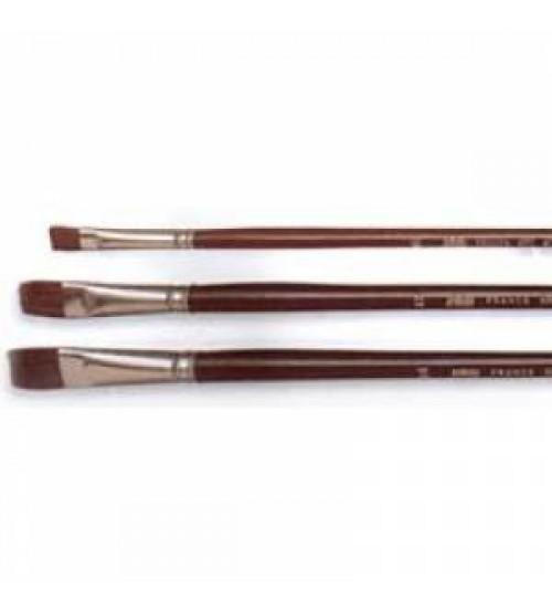 Pebeo 210 Serisi Öküz Kulağı Kılı Yağlı / Akrilik Boya  Fırçası No:10