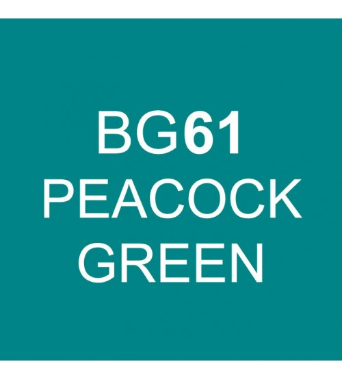 Touch Twin Marker BG61 Peacock Green