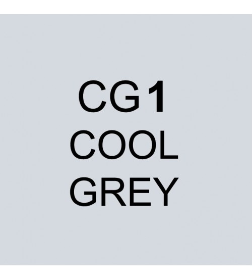 Touch Twin Marker CG1 Cool Grey