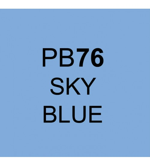Touch Twin Marker PB76 Sky Blue
