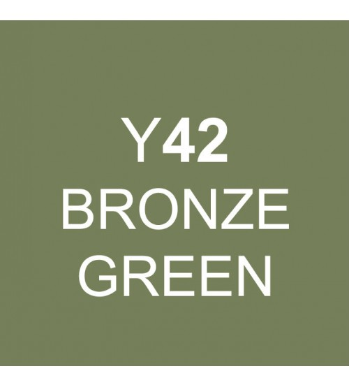 Touch Twin Marker Y42 Bronze Green