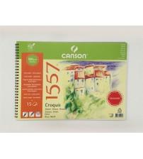 Canson 1557 120gr 35 X 50 cm 15 yaprak