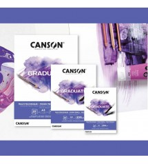 Canson Graduate 200 gr A3 20yp Mixed Media
