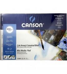 Canson Fineface 200gr 35 X 50 cm 15 yaprak