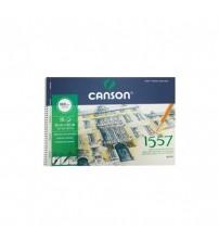 Canson 1557 180gr 35  X 50 15 yaprak Yandan Spiralli