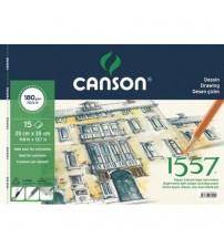Canson 1557 180gr 25  X 35 15 yaprak Yandan Spiralli