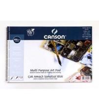 Canson Fineface 200gr 25 X 35 cm 15 yaprak
