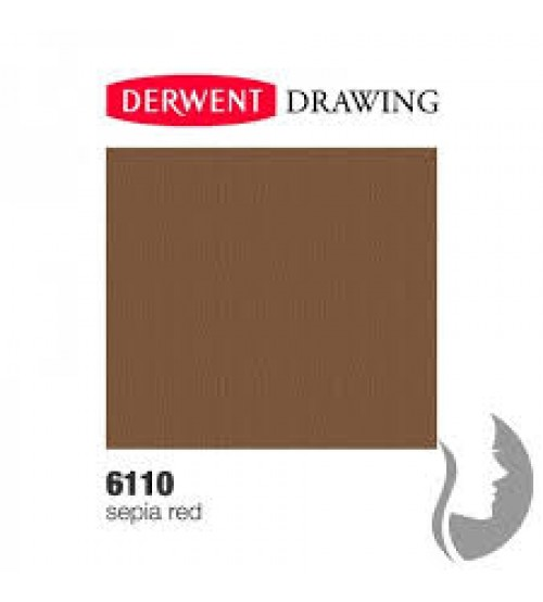 Derwent Drawing 6110 Sepia (red)