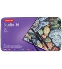 Derwent Studio Pencil 36 lı Teneke Kutu