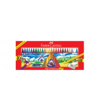 Faber Castell Silinebilir Mum Boya (Wax Crayon) 25 Renk