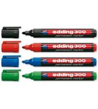Edding 300 Permanent Marker Kırmızı