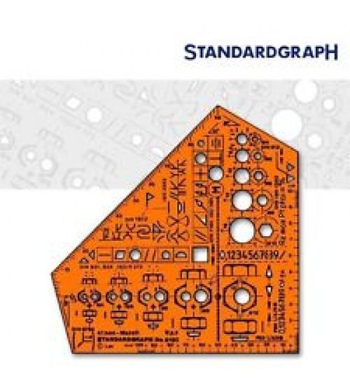 Standardgraph 8190 Stano Metall Şablon