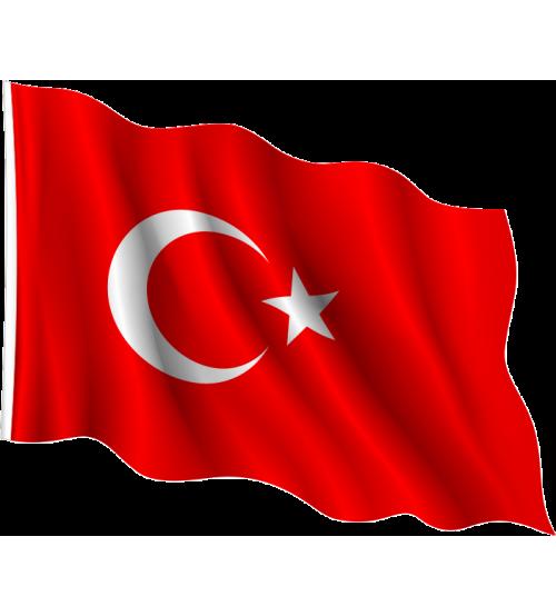 Buket Alpaka Türk Bayrağı 40 x 60 cm