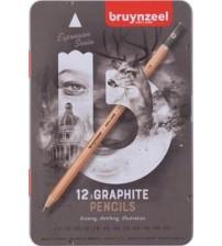 Bruynzeel Expression Grafite Set 12 li