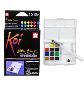 Koi Water Colors Sulu Boya Takımı 12 li
