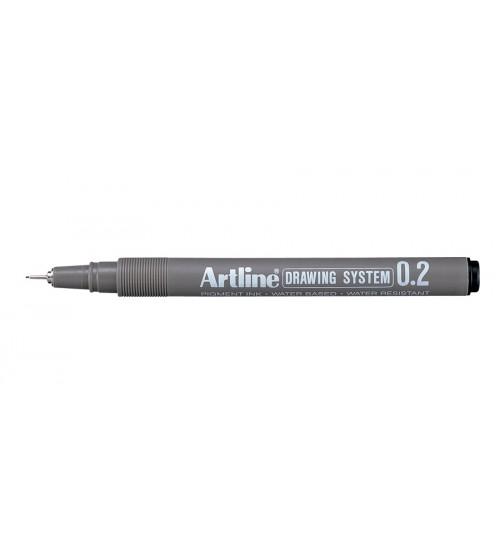 Artline Drawing Pen 0,2 mm Siyah