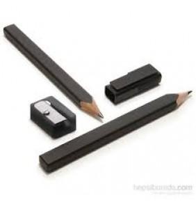 Moleskine EW1PSA Moleskine 2 li Kurşun Kalem ve Kalemtraş