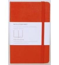 Moleskine MM710 Sert Kapak Cep Boy Düz Kırmızı Defter