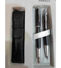 Parker IM Premıum Dolma Kalem Tükenmez Kalem Takımı Mat Siyah