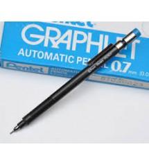 Pentel PG307 Graphlet Siyah Plastik Gövde Versatil Kalem 0.7 mm uç