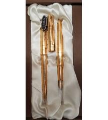Regal Dolma Kalem Tükenmez Kalem Takımı Altın