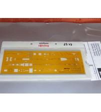 Rotring Art852748 Elektroteknik III Şablon