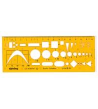 Rotring Art852757 Elektronik Şablon