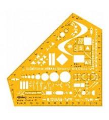 Rotring Art852769 Elektronik Şablon
