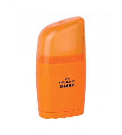 Serve Double Sharp Silgi + Kalemtraş Turuncu
