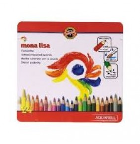 KOH-I-NOOR Mona Lisa Aquarell Set 24 lü