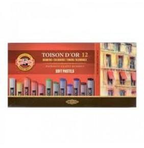 Koh-i-noor Toison D'or Toz Pastel 12 Renk