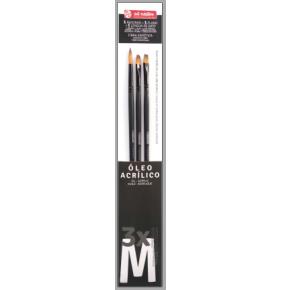 Art Creation 3 lü Fırça Setı M