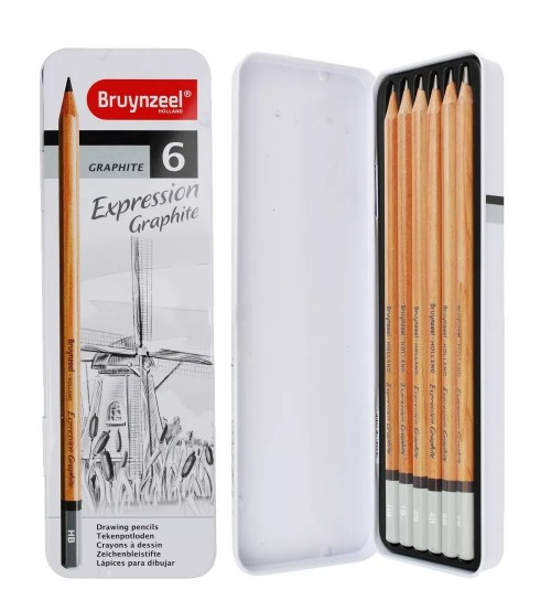 Bruynzeel Expression Grafite Set 6 lı