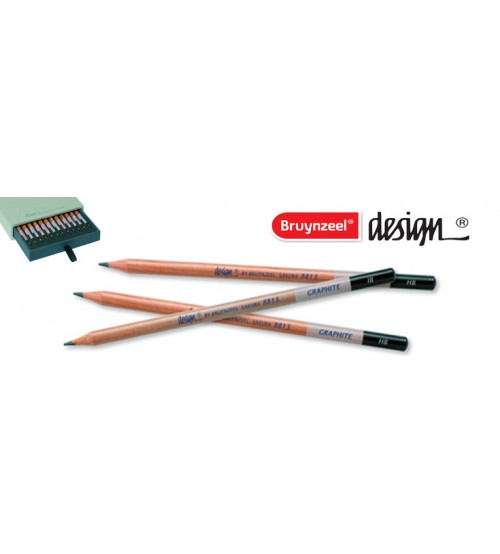 Bruynzeel Design Graphite Pencil 3B