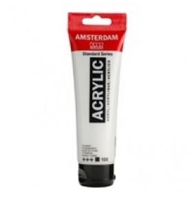 Amsterdam Akrilik Boya 120 ml 105 Titanium White