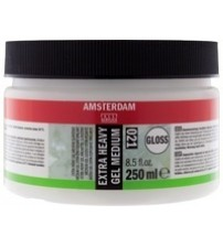 Amsterdam Extra Heavy Gel Medium Glossy 250 ml