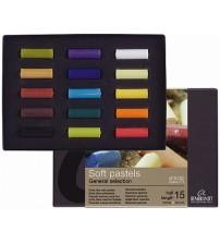Rembrandt Soft Pastel Starter Set 15 renk