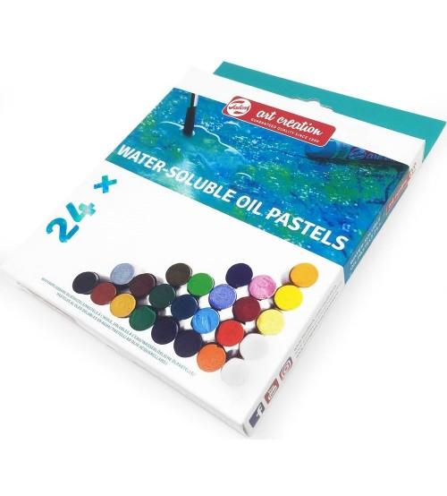 Art Creation Sulandırılabilir Yağlı Pastel Boya 24 Renk